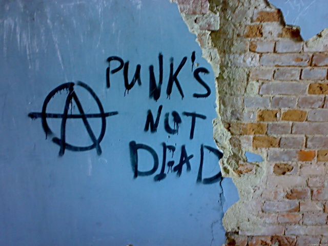 No bigot can kill punk rock.