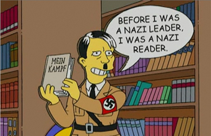 Simpsons Hitler