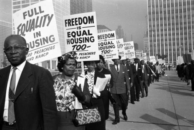 Fair Housing Protest