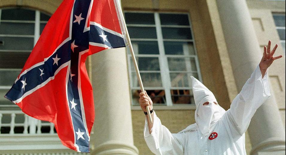Totally not racist. Credit: AP Photo/Evansville Press, Jonna Spelbring