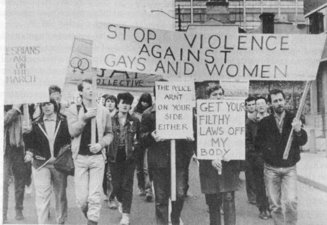 Violence Against Women and Gays Protest
