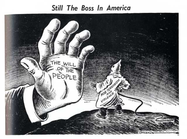 Anti-Klan Cartoon