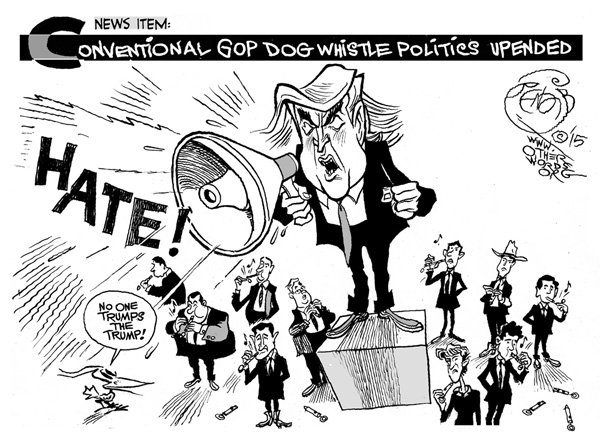Trump Political Cartoon
