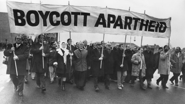 Apartheid Protest