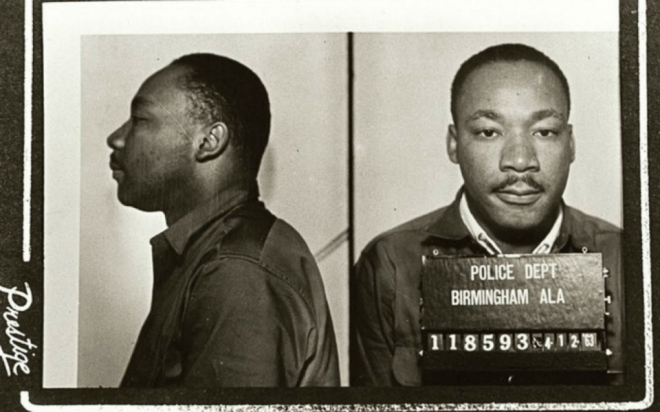 Martin Luther King Jr. Mugshot