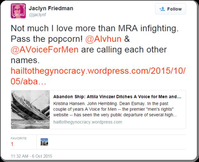 Friedman Tweet