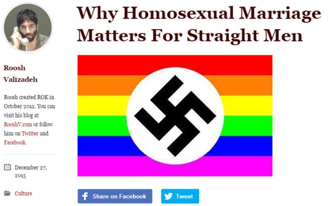Roosh Homophobia