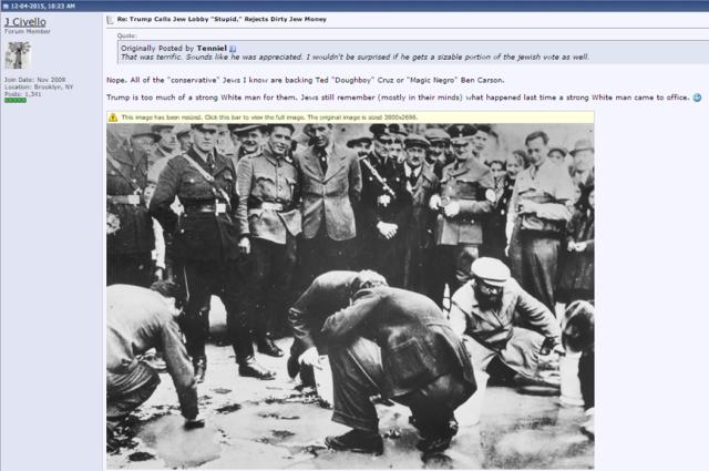 Stormfront Holocaust