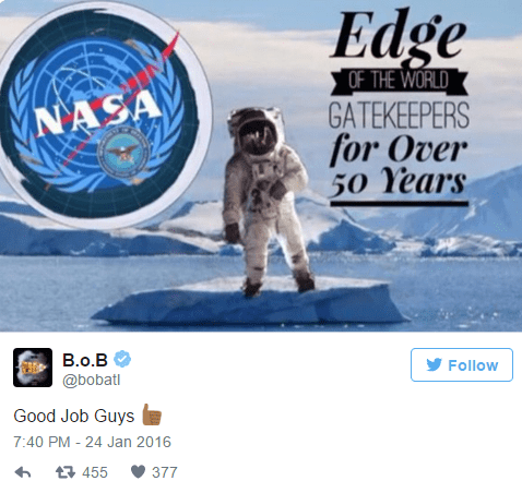 B.o.B. Flat Earth 4