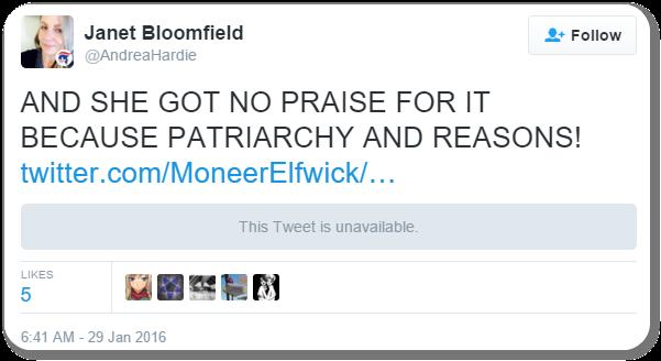 Bloomfield Tweet 7