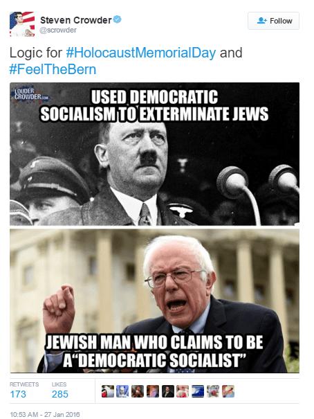 Crowder Hitler