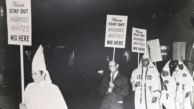Ku Klux Klan Protest