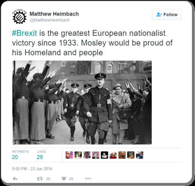 Matt Heimbach Tweet