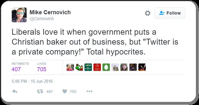 Mike Cernovich Tweet