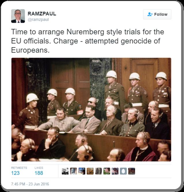 RamZPaul Tweet