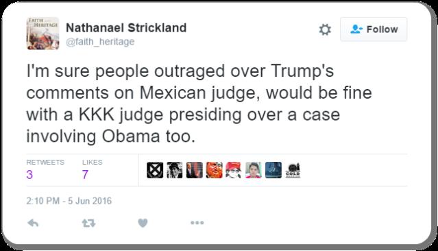 Strickland Tweet
