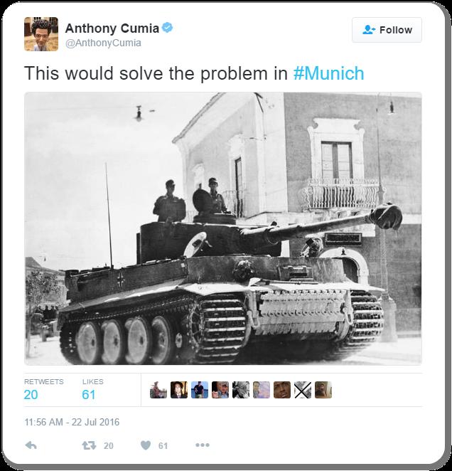 Racist Tweet