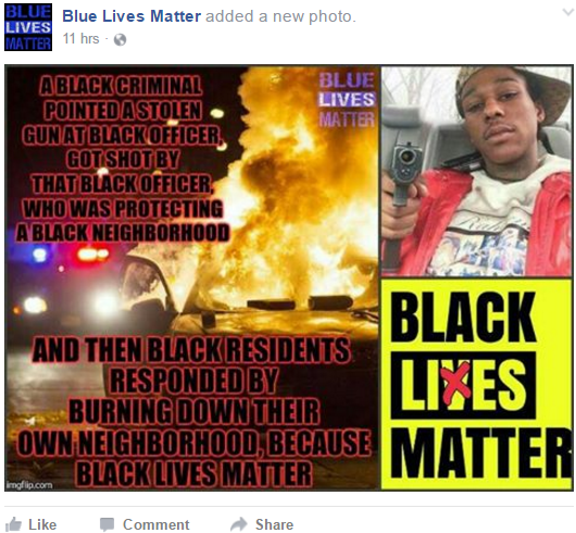Blue Lives Matter 1