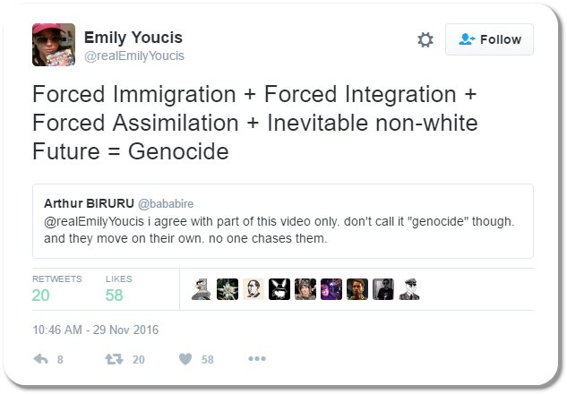 FLASHBACK: Emily Youcis Describes How She Came to Embrace White Nationalism