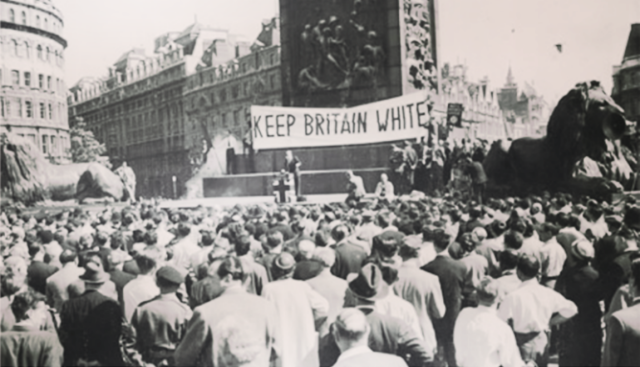 Racist British Rally