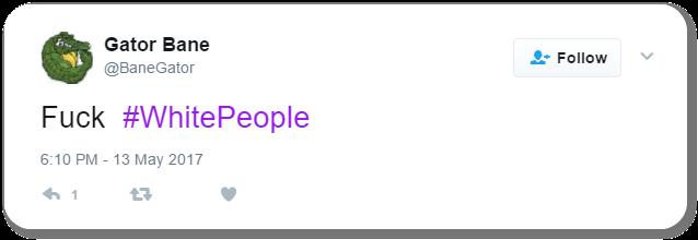 Racist Tweet 45