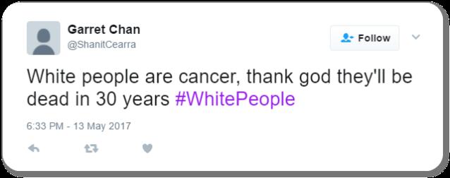 Racist Tweet 50