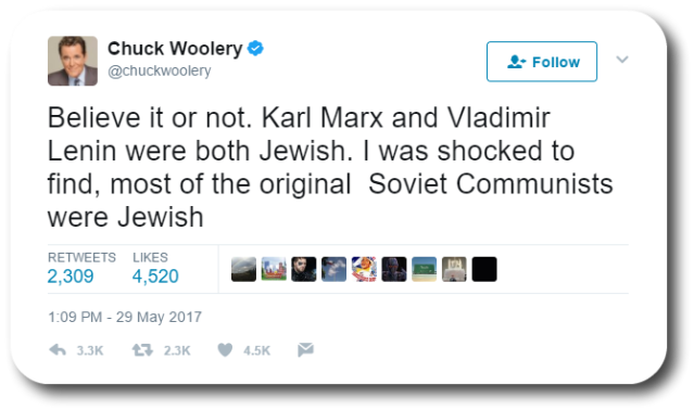 Woolery Anti-Semitic 1