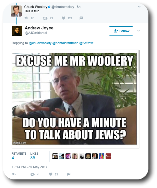 Woolery Anti-Semitic 28