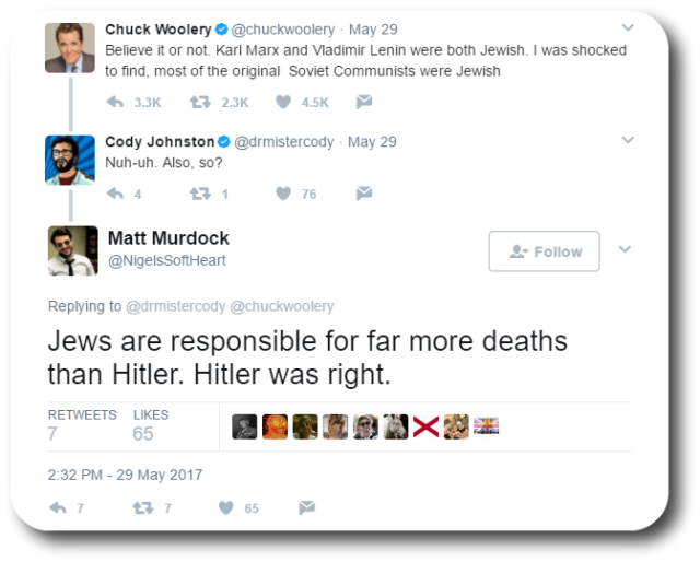 Woolery Anti-Semitic 5