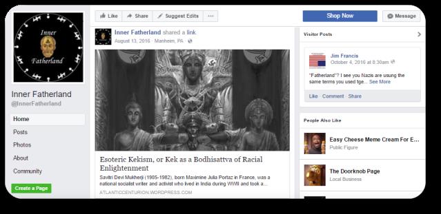 Inner Fatherland Facebook