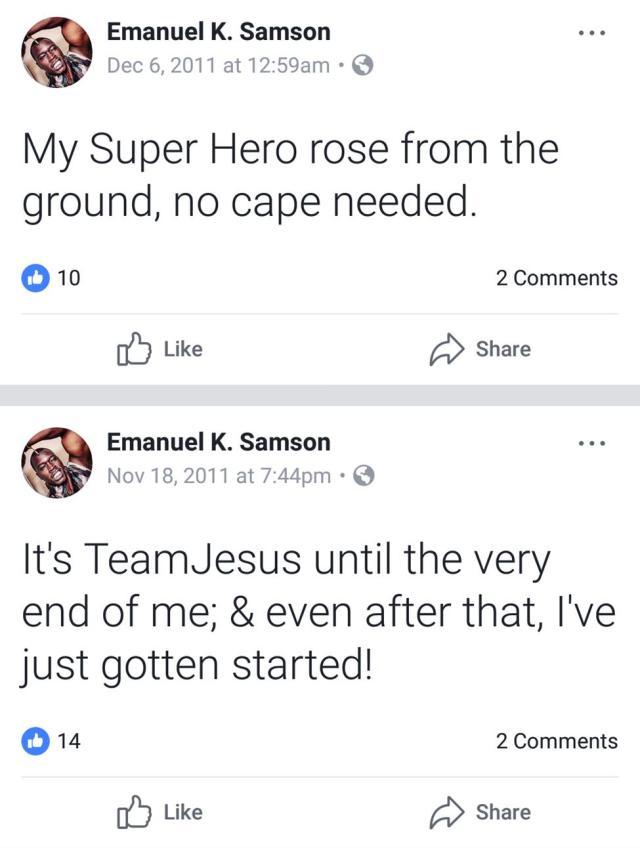Samson Facebook 3