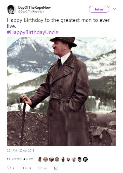 Hitler Birthday 1