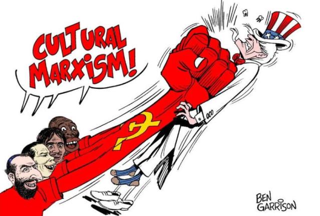 CulturalMarxismRacistCartoon