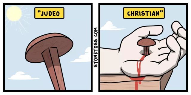 StoneToss Cartoon 2