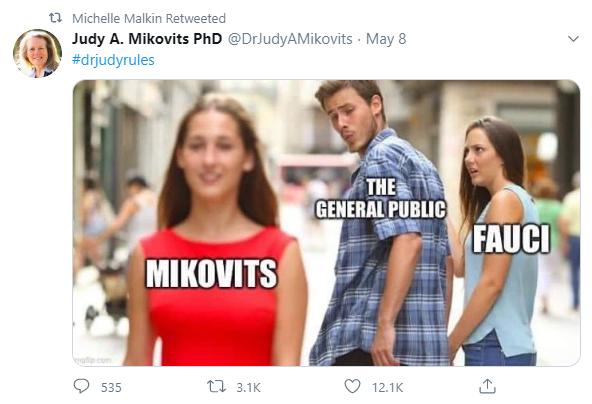 Mikovits Tweet 1